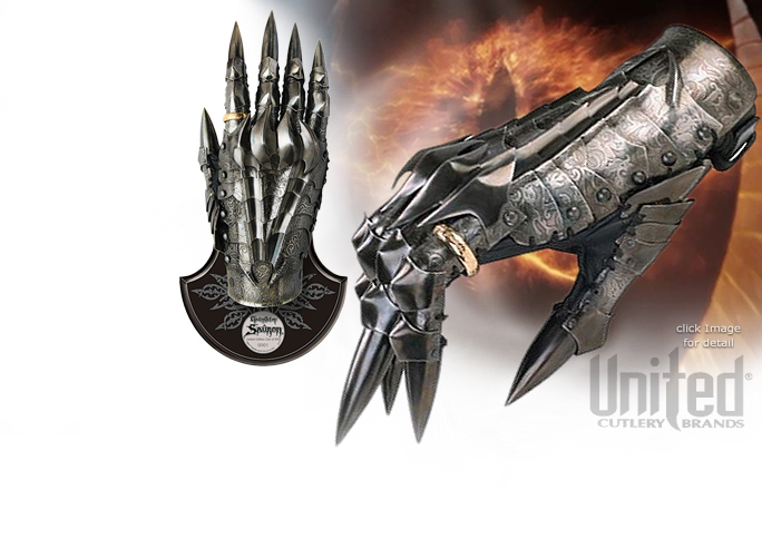 NobleWares Image of Officially Licensed Lord of the Rings Gauntlet of Sauron UC3065 by United Cutlery
