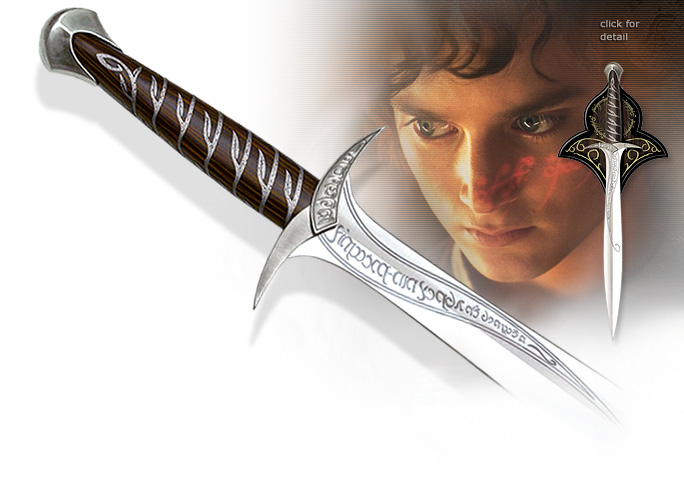 NobleWares Image of Frodo Baggins Sting Sword and Scabbard from Lord of the Rings UC1264  UC1300