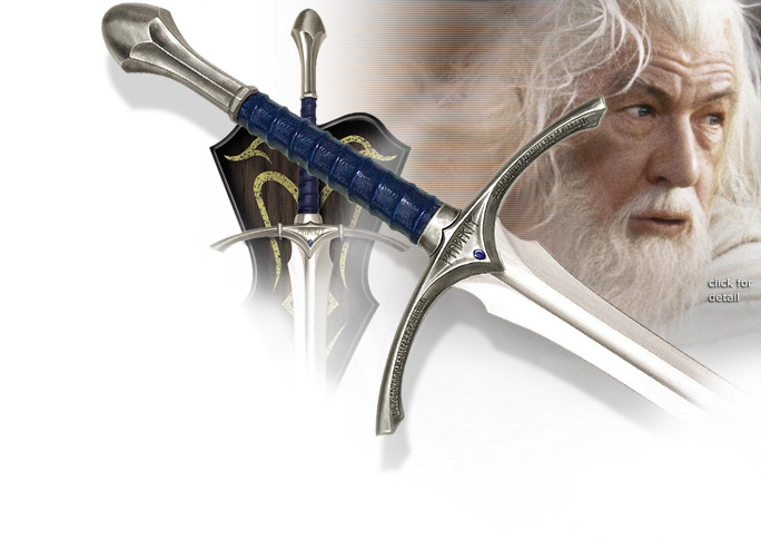 NobleWares Image of Lord of the Rings UC1265 Glamdring Sword of Gandalf by United Cutlery