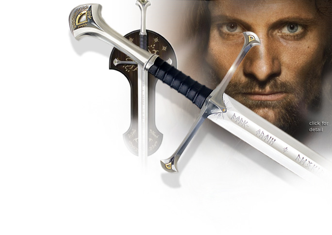 NobleWares Image of Lord of the Rings UC1380 Anduril Sword of King Elessar by United Cutlery