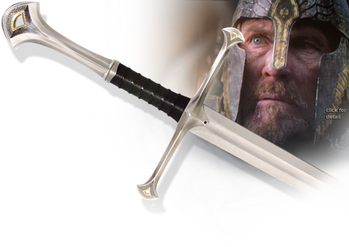 NobleWares Image of Lord of the Rings UC1267 Narsil Sword of King Elendil by United Cutlery