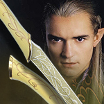 Lord of the Rings UC1372WGNB Fighting Knives of Legolas by United Cutlery