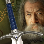 UC2942 Glamdring Sword of Gandalf prop replica from The Hobbit movie licensed product by United Cutlery