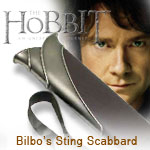 Bilbo Baggins Sting Sword Scabbard prop replica UC2893 from The Hobbit An Unexpected Adventure by United Cutlery