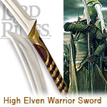 High Elven warrior sword UC1373 specifications and detail information