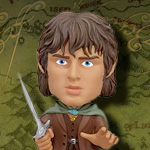 Lord of the Rings FU2060 Frodo Baggins with Sting Bobble Head by Funko
