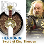Lord of the Rings Sword of King Theoden
