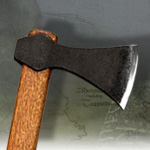 Antiqued Viking Throwing Axe XH2042N by CAS HANWEI