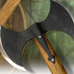Double Bladed Hero's Axe XH1074 by CAS HANWEI