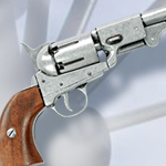 Denix Model 1083G Civil War Replica Griswold & Gunnison Brass Frame Confederate Pistol Non-Firing Gun