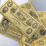 Civil War Union Paper Money Set