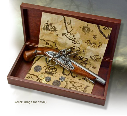 Historic Boxed Pistol Sets - Pirate Treasure