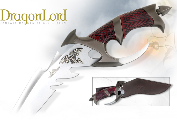 NobleWares Image of Gil Hibben Dragon Lord bowie knife GH898 by United Cutlery