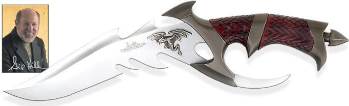 Image of Gil Hibben Dragon Lord bowie knife GH898 by United Cutlery