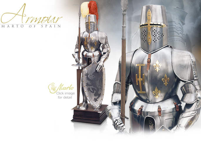 NobleWares Image of 905 Suit of Armour by Martespa of Toledo Spain