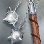 Medieval Double Spiked Ball Flail BKCS610 by BK