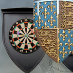 Medieval Dartboard Set 50-3438