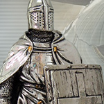 Cast Bronzed Resin Crusader Knight 8711 by Pacific Trading