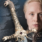Officially Licensed Game of Thrones Oathkeeper Sword of Brienne VS0112 by Valyrian Steel