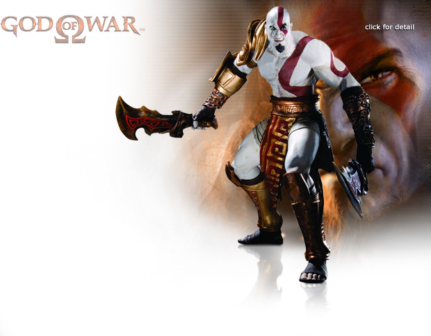 NobleWares Image of God Of War Series 1 Kratos Action Figure DC29303 by DC Unlimited