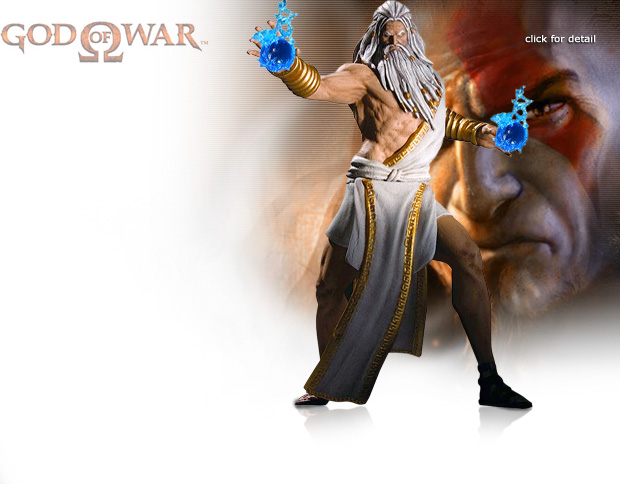 NobleWares Image of God Of War Series 1 Zeus Action Figure by DC Direct Unlimited