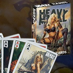 HEAVY METAL Official Poker Playing Cards NM52130