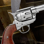 Cattleman Revolver Denix 1106G of the Redemption Dead On Collection