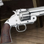 Schofield Revolver Denix Model 1008N of the Redemption Dead On Collection