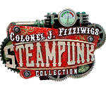Colonel J. Fizziwigs Steampunk Collection logo