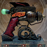 Colonel J Fizziwigs Steampunk Consolidator Blaster 8323 by Pacific Trading