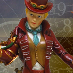 Steampunk Lady Dapper Atire Figurine 9199 by Pacific Giftware