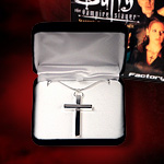 Factory X Slayer's Cross prop necklace 76001 from Buffy the Vampire Slayer TV series