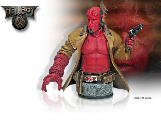 NobleWares Image of GE11242 Hellboy II Mini Bust by Gentle Giant Limited Edition