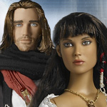 Prince of Persia Sands of Time Prince Dastan TRT10DYDD05 & Princess Tamina TRT10DYDD06 Tonner Dolls