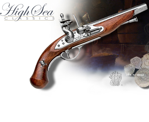 NobleWares Image of 18th Century Pirate Flintlock 22-1012 by Denix