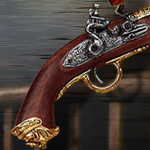 PIRATE FLINTLOCK BLUNDERBUSS