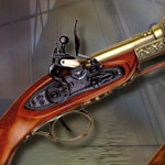 1671 ENGLISH BLUNDERBUSS GRAY