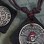 LEATHER PIRATE NECKLACES