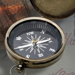 19th Century pirate pocket compass