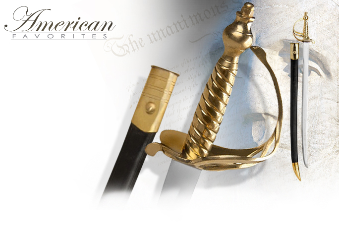 NobleWares Image of Bunker Hill Sword of the American Revolution 06-810