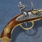 Napoleonic 1806 non-firing replica Flintlock Pistol model 1063 by Denix of Spain