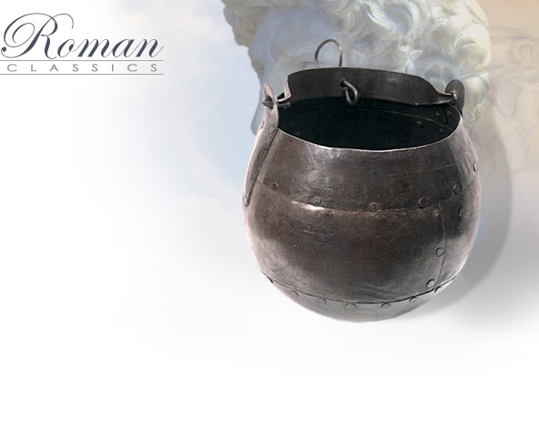 image of Roman Cauldron Cooking Pot IR13012