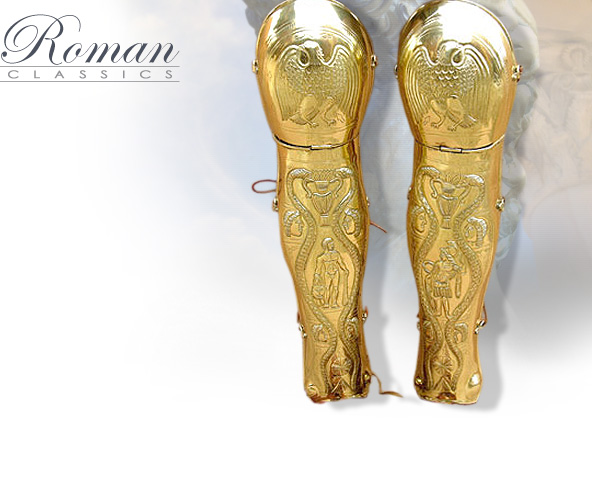 Image of AH6123 Roman Classic Greaves