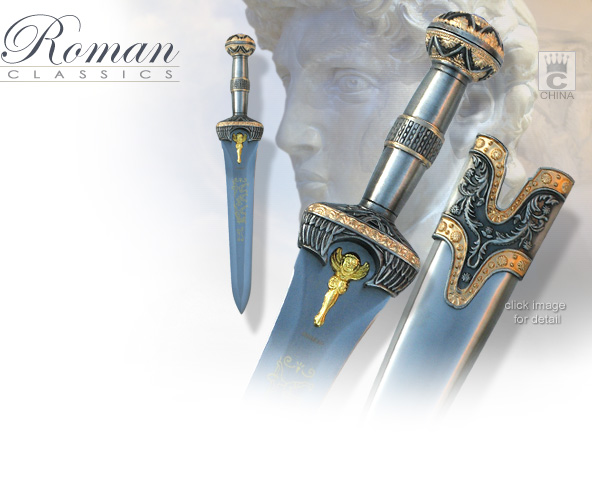 image of KCC073S Roman Jeweled Dagger