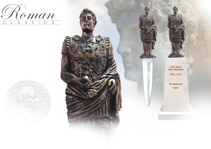 Image of Augustus Caesar Letter Opener Set KD075-1 made in China