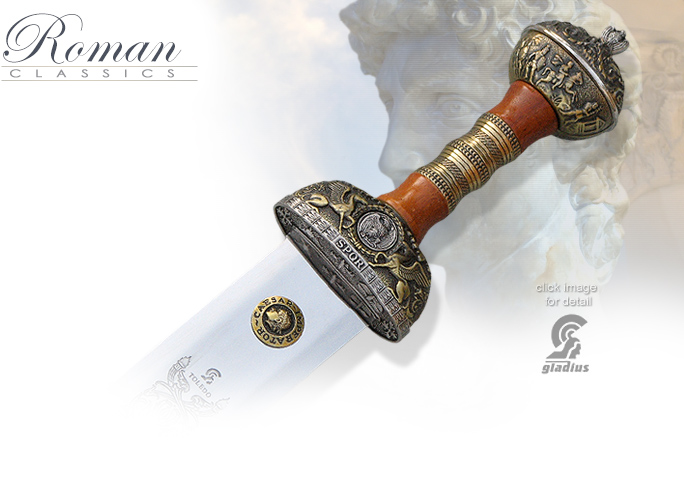 Image of Julius Caesar Sword SG211 by Art Gladius of Spain