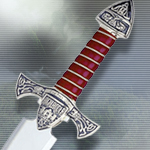 """The Best of Highlander"" Limited Edition Silver Dagger HI005.1 by Marto"