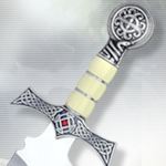 """The Best of Highlander"" Limited Edition Silver Claymore Dagger HI015.2 by Marto"