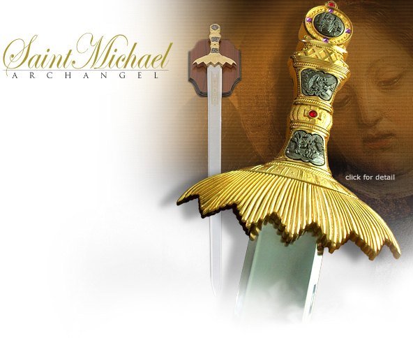 NobleWares Image of Saint Michael Archangel Sword