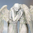 Cold Cast Stone Resin Angel Yofiel & Jophiel 7461Statues by YTC Summit,